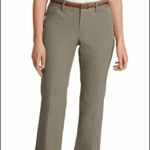 NWOT Eddie Bauer StayShape Curvy Trousers- Tall!